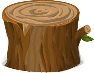 Drawing of a wood piece