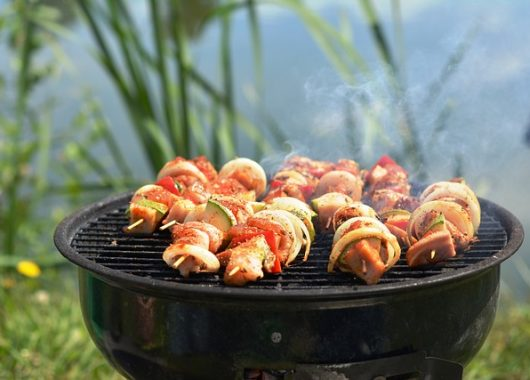 best gas grill for pontoon boat